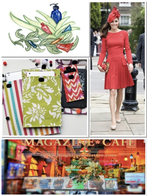 Natural Beauty Products, DIY Smartphone Cases, Magazine Stores, Kate Middleton Outfits