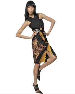 Etro side cut outs, Etro cut out dress, side cut out dresses, Etro Dresses, Fall dresses