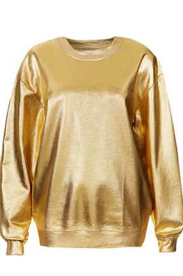 Chic Sweatshirts, Fall Trends, Fall 2013, Kate Moss, Metallics