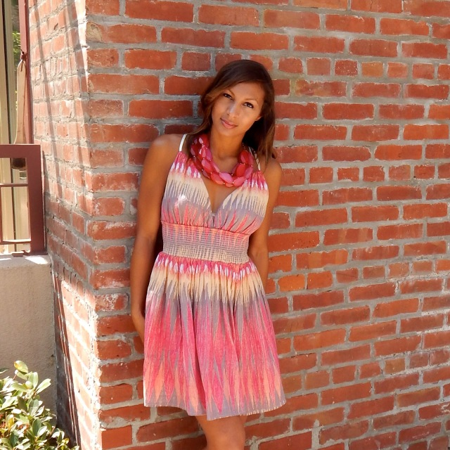 Napa Valley, Free People Dress, Sundress, Colorful Dresses, Francescas Necklace, Statement Necklace