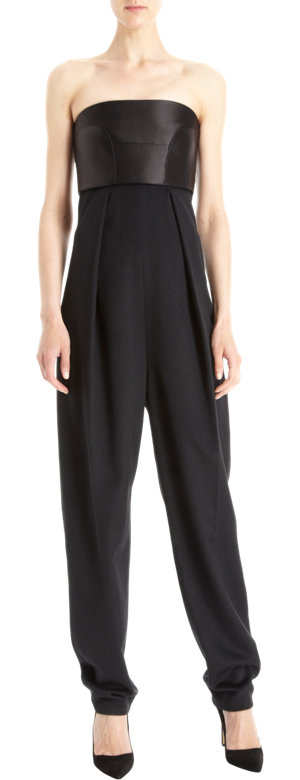 The Row Jumpsuit, The Row Fall Collection, The Row Ready to Wear, Chic Jumpsuits, Dressy jumpsuits, black jumpsuits, Mark Kate and Ashley Olsen Clothing line, The Row Ready to Wear