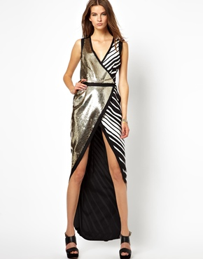 Sass & Bide Ready to Wear, Sass & Bide Maxi Dress, Sass & Bide Shiny Dress, Sass & Bide Evening Dress, Sass & Bide Dresses, Sass & Bide New York Fashion Week