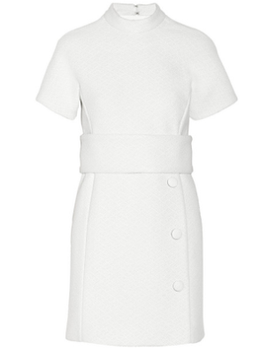 Winter White Dress, Duchess of Cambridge Fashion, Princess Kate Middleton Fashion, Winter White Dress, Splurge White Dress, Winter Dresses