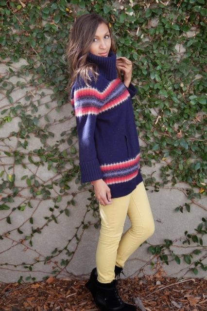 Fall Outfits, Fall in the Bay, San Francisco Fall, San Jose Fall, Oversized sweater and skinny jeans
