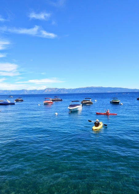 Tahoe Vacation, Kayak in Tahoe, Paddle board, Mountains and Lake