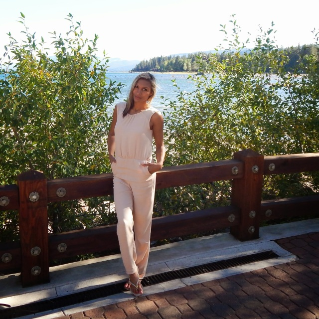 Zara Jumpsuit, SS15 fashion, style, pale pink, neutral pink, parisian chic