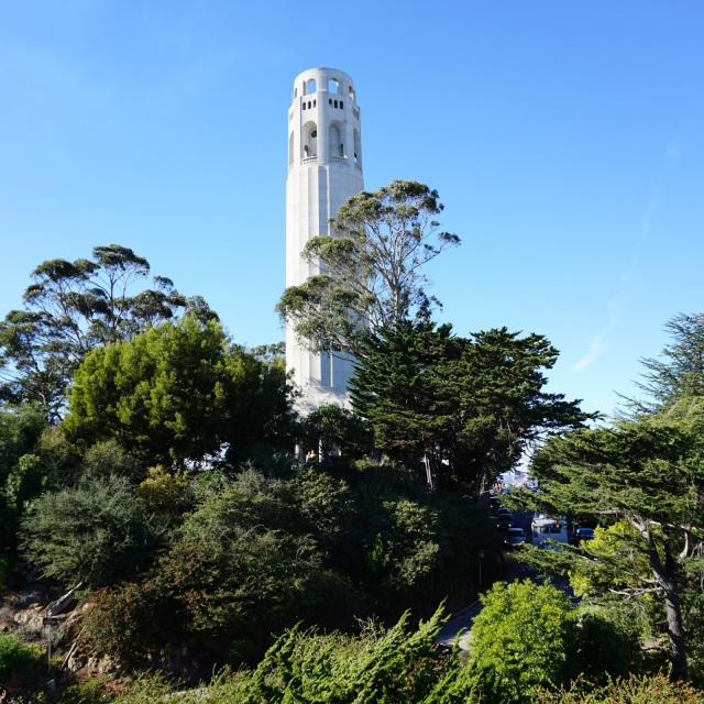 Coit Tower, San Francisco, North Beach, Russian Hill, Fleet Week, Blue Angels, Fall in San Francisco, San Francisco, rooftop